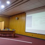 We gave a lecture to doctors about rehabilitation revision