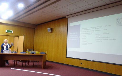 Prezentációt tartottunk komplex felülvizsgálatot végző orvosoknak