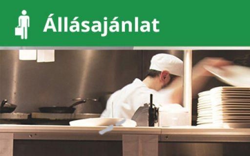 Állásajánlat – éttermi munkatárs irodai étkezőbe
